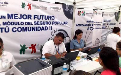 Tiene Bcs 207 Mil Ciudadanos Afiliados Al Seguro Popular