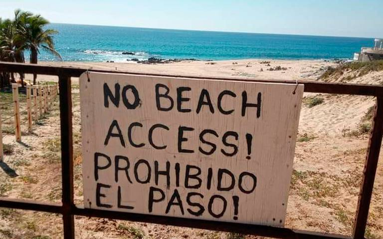 Desarrollo en Costa Azul admite haber tomado 10m en zona de playa y arroyo  - El Sudcaliforniano   Noticias Locales, Policiacas, sobre México, Baja  California Sur y el Mundo