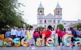 Con la inauguración de la develación delas letras representativas de San José del Cabo se reafirma el compromiso de la XIII Administración con la cultura y las artes. Foto: Cortesía | Ayuntamiento de Los Cabos