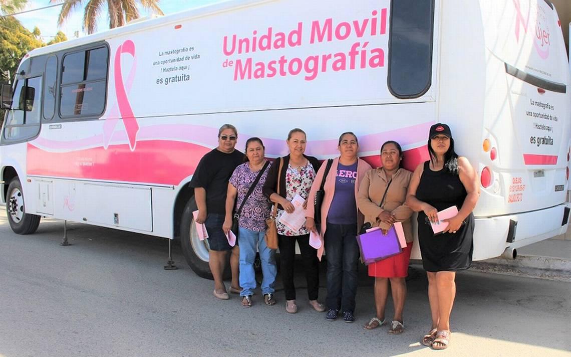 Gobierno estatal acerca de nuevo el mastógrafo móvil a Cabo San Lucas - El Sudcaliforniano